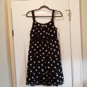 Ann Taylor Loft Tiered Ruffle Dress